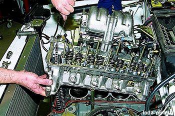установка гбц на двигатель