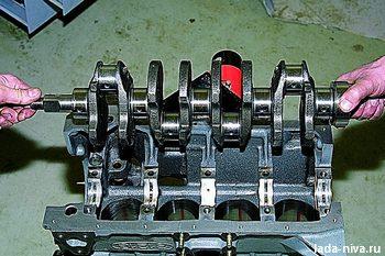Разборка и ремонт двигателя Нива ВАЗ 21213, 21214, 2131 lada 4x4