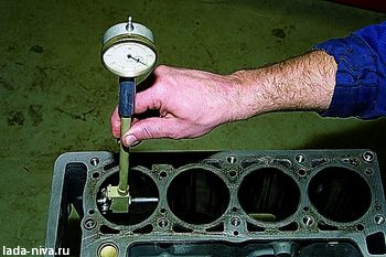измерение диаметра цилиндра