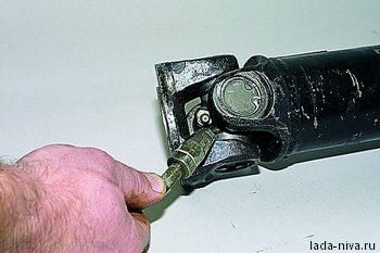 смазка подшипников кардана