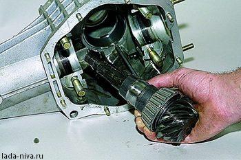 ремонт переднего редуктора