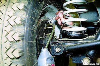 Прокачка тормозной системы нива 21213