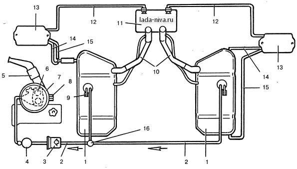 2 baka - Топливная система ваз 21213 карбюратор схема
