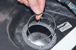 центрирующее кольцо топливного насоса